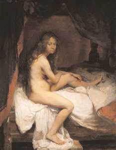 William Newenham Montague Orpen - The English nude