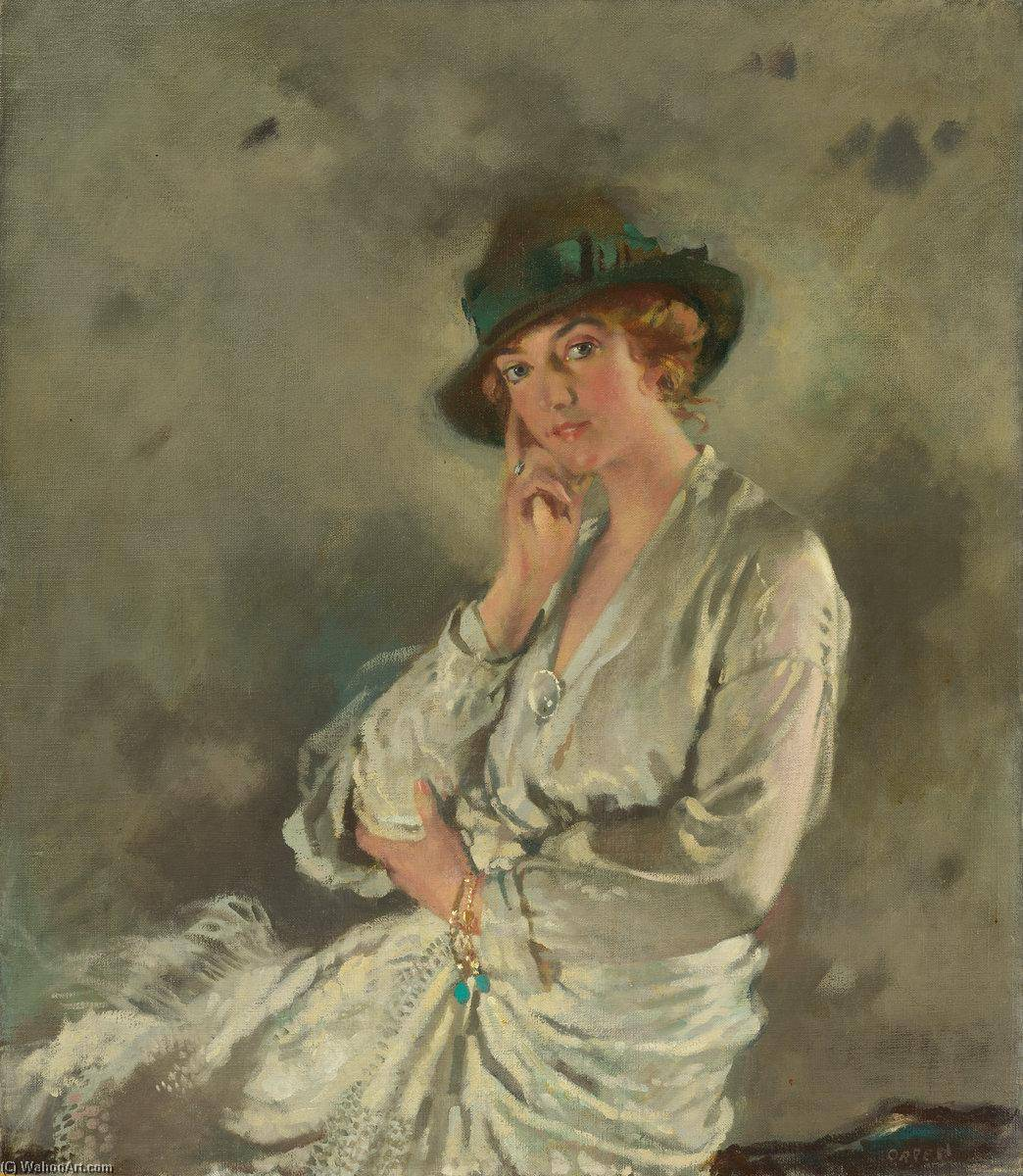 Mrs Charles S Carstairs, 1914 by William Newenham Montague Orpen (1878-1931, Ireland) | Museum Quality Reproductions | WahooArt.com