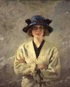William Newenham Montague Orpen - Girl in a White Dress