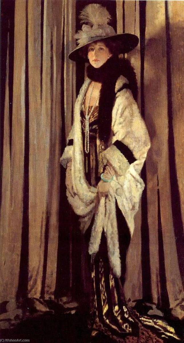 Mrs. St. George by William Newenham Montague Orpen (1878-1931, Ireland) | Art Reproduction | WahooArt.com
