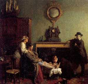 William Newenham Montague Orpen - A Mere Fracture