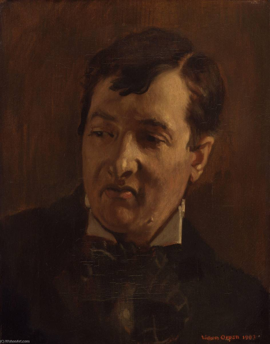 George Charles Beresford, Oil On Canvas by William Newenham Montague Orpen (1878-1931, Ireland)