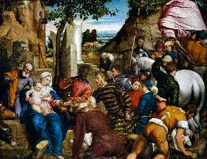 Jacopo Bassano The Elder - The Adoration of the Kings