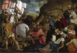 Jacopo Bassano (Jacopo Da Ponte) - The Journey to Calvary