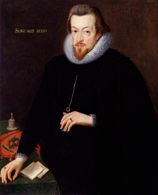 Robert Cecil, 1st Earl of Salisbury, 1602 by John De Critz The Elder | Painting Copy | WahooArt.com