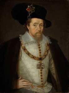 John De Critz The Elder - James VI and I (1566–1625), King of Scotland (1567–1625), King of England and Ireland (1603–1625)