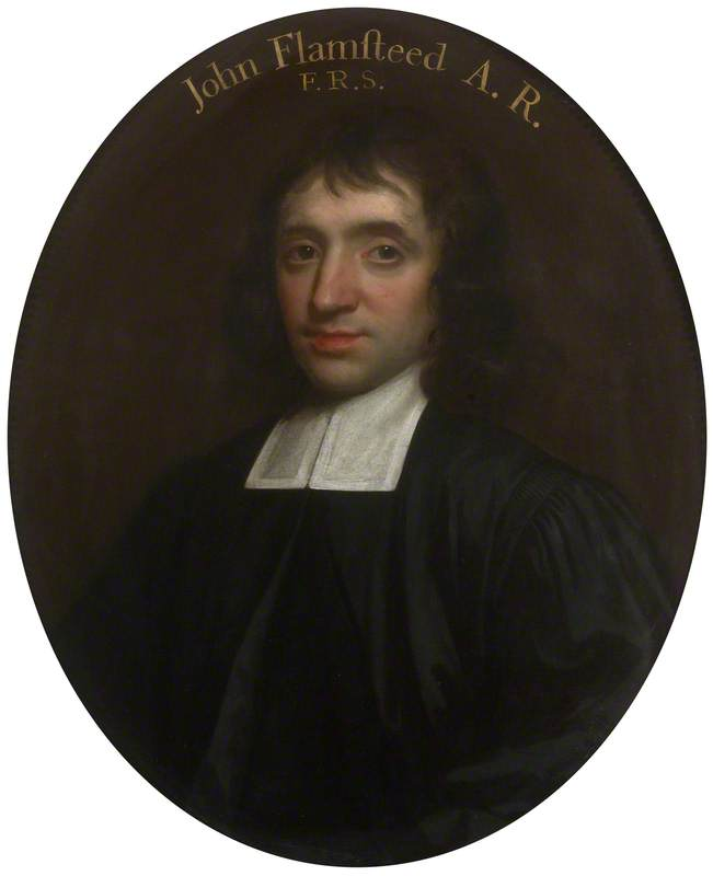 John Flamsteed (1646–1719), Oil On Canvas by Thomas Murray