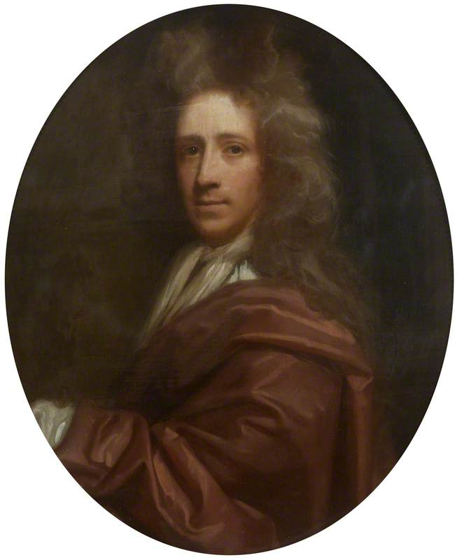 Richard Waller (1655–1715), Oil On Canvas by Thomas Murray
