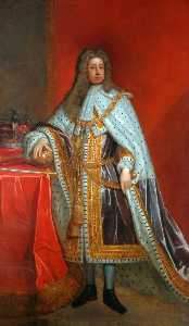 Order Paintings Reproductions | King George I (1660–1727), 1722 by Thomas Murray | WahooArt.com