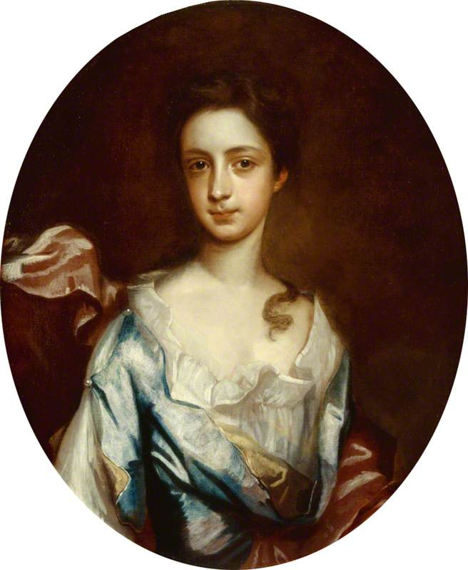 Lady Mary Booth (1704–1772), Later Countess of Stamford, Oil On Canvas by Thomas Murray