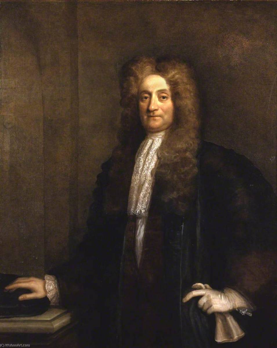 Sir Hans Sloane (1660–1753), 1725 by Thomas Murray | Museum Quality Reproductions | WahooArt.com