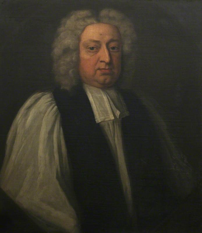 William Wake (1657–1737), Archbishop of Canterbury, Oil On Canvas by Thomas Murray