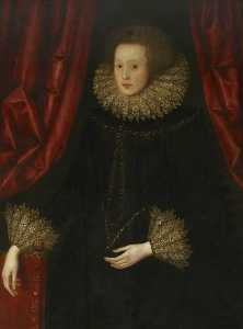 William Larkin - Lady Russell (1560–1616), Countess of Cumberland