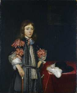 Gerard Terborch Ii - Gerbrand Pancras, Formerly Known as Hendrick Casimir II, Prince of Nassau Dietz