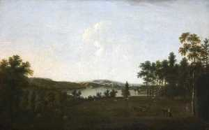 William Tomkins - Mount Edgcumbe and Plymouth Sound from Saltram