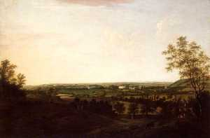 William Tomkins - Distant View of Saltram