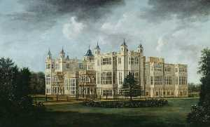 William Tomkins - Audley End from the South West