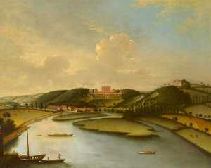 William Tomkins - A View of Cliveden