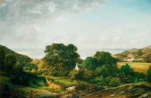 William Tomkins - View in the South West of England