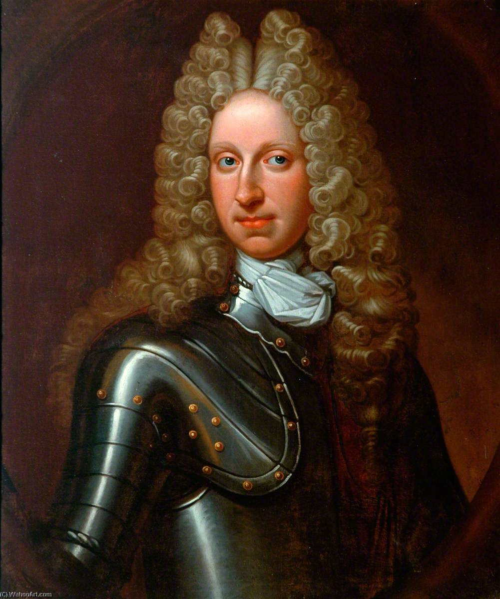 Charles, 9th Lord Elphinstone, Oil On Canvas by Richard Waitt