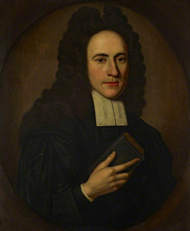 Reverend Ralph Erskine (1685–1752), Secession Leader and Poet, Oil On Canvas by Richard Waitt