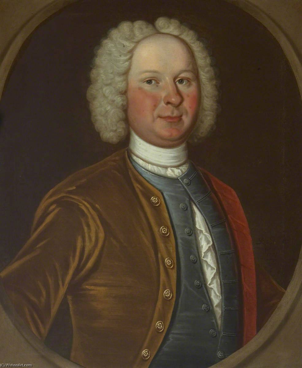Provost Cuthbert, Oil On Canvas by Richard Waitt