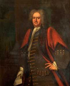 Johan Van Diest - Alderman Richard Ford, Mayor of Bath (1730)
