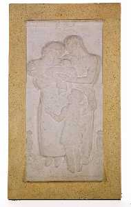 Joseph Emile Renier - Brooklyn Domestic Relations Court Building, Relief for ( 1)