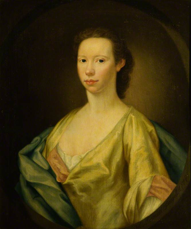 Catherine, Wife of George, Lord Haddo, Later 3rd Earl of Aberdeen, 1741 by William Mosman | Museum Quality Copies William Mosman | WahooArt.com
