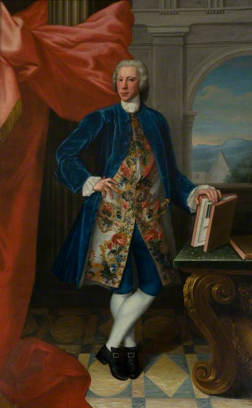 Thomas Kennedy, 9th Earl of Cassillis, 1746 by William Mosman | Reproductions William Mosman | WahooArt.com