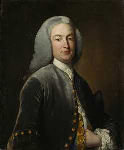 John Giles Eccardt - William Murray (1705–1793), Later 1st Earl of Mansfield (after Jean Baptiste van Loo)
