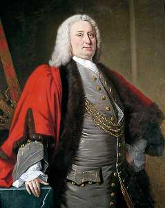 Order Reproductions | Alderman James Rowe, 1752 by Henry Pickering | WahooArt.com