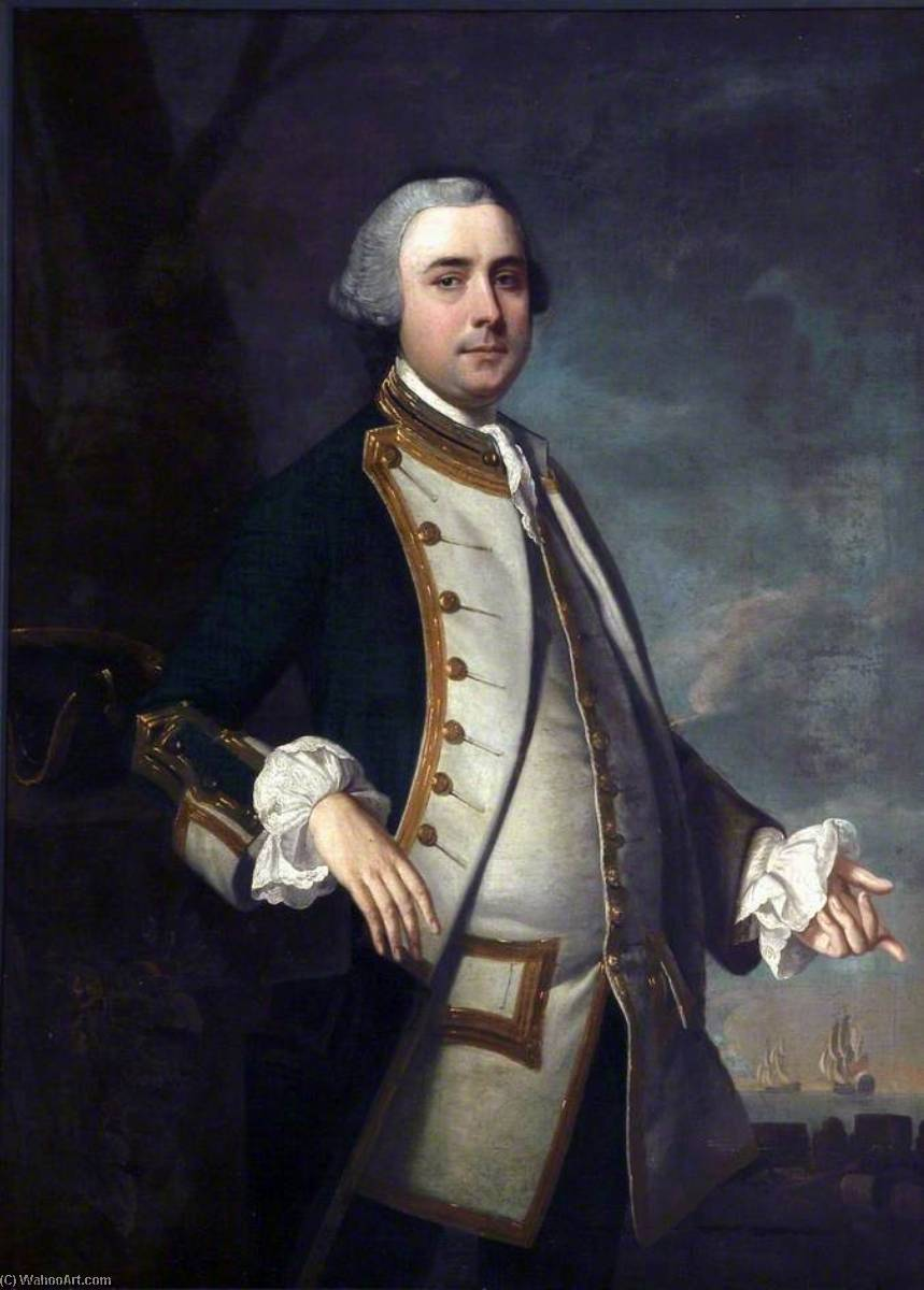 Thomas Johnson (d.1771), Oil On Canvas by Henry Pickering