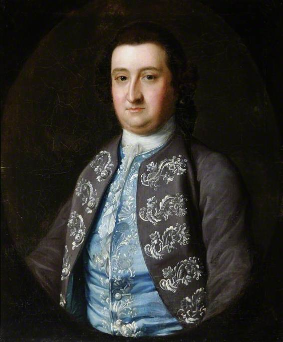 Portrait of a Gentleman, Oil On Canvas by Henry Pickering