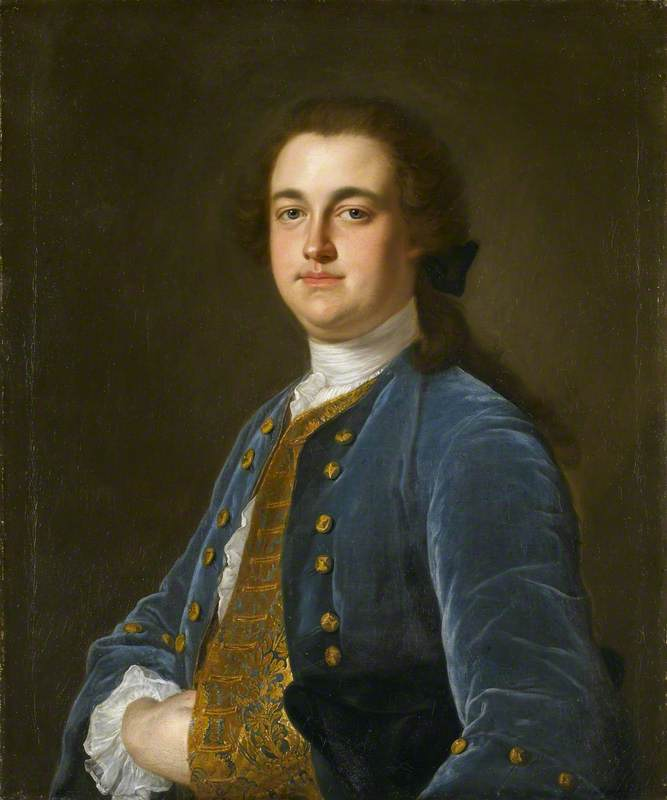 Possibly Sir Thomas Hesketh (1727–1778), 1st Bt, of Rufford by Henry Pickering | Oil Painting | WahooArt.com