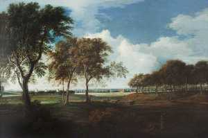 Nicholas Thomas Dall - Sudbury Park from the North, Morning