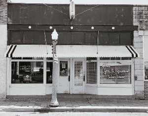 James Lyle Enyeart - Alma Main Street, from the Kansas Documentary Survey Project
