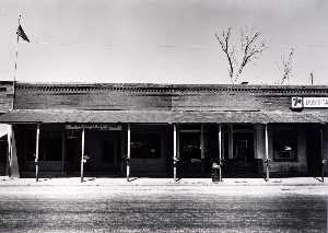 James Lyle Enyeart - Kincaid Post Office, from the Kansas Documentary Survey Project