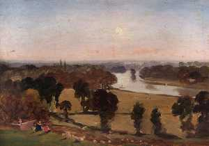 George Hilditch - View from Richmond Hill, Surrey