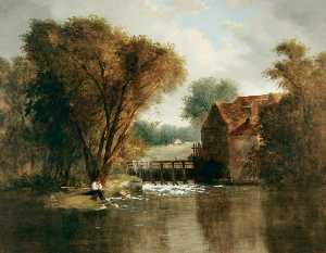 Alfred Priest - Iffley Mill, Oxford