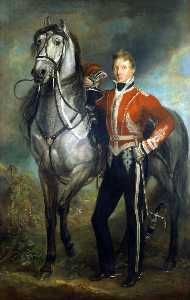 James Howe - Major George Cunningham or Cuninghame (1783–1838), 7th Bengal Native Infantry, Commanding 2nd Corps Rohilla Cavalry
