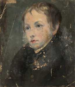 Richard Augustus Clack - Portrait of a Young Man
