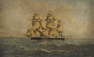 Henry J Morgan - The Corvette HMS -Rover-