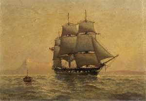 Henry J Morgan - The Screw Frigate HMS 'Immortalite'