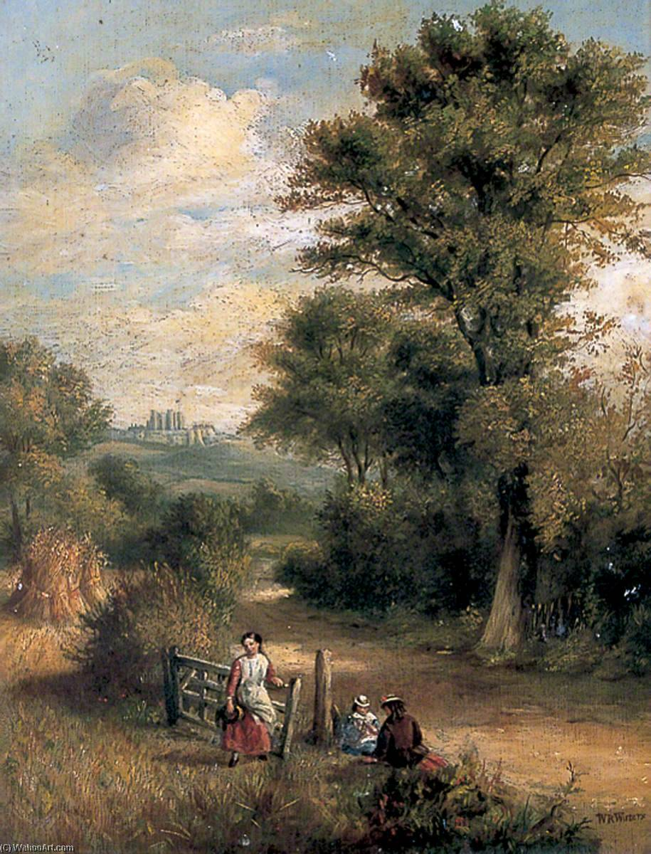 Order Reproductions | Country Road, Dover, Kent, 1845 by William Richard Waters | WahooArt.com