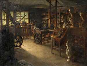 Jonathan Pratt - James Watt's Work Room, Heathfield Hall