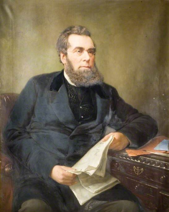 John Skirrow Wright (1823–1880), 1880 by Jonathan Pratt | Painting Copy | WahooArt.com