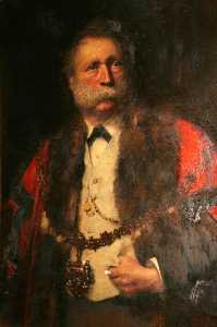 John Ernest Breun - William Thomas of Lan, JP, Mayor of Swansea