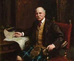 John Ernest Breun - Alexander Forbes Leith (1847–1925), Lord Leith of Fyvie