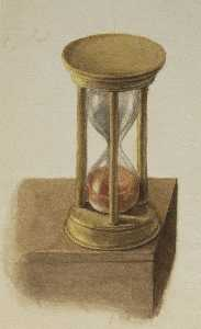 Mary Morris Vaux Walcott - Untitled (Hourglass)